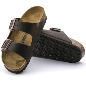 Birkenstock Arizona Sandals Oiled Leather habana